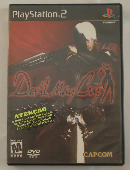 Devil May Cry Ps2 Original Usado