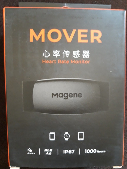 Cinta Cardíaca Magene Mover Bluetooth Bryton Strava Garmin Bryton