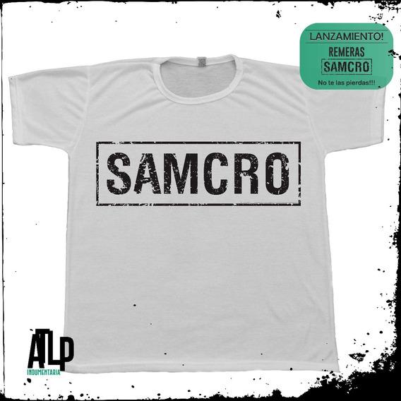 Remeras Sons Of Anarchy Samcro 2017 + Cuadros A Eleccion!