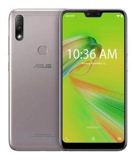 Zenfone Max Plus (m2) Prata Asus 4g 32 Gb 12+5mp Zb634kl