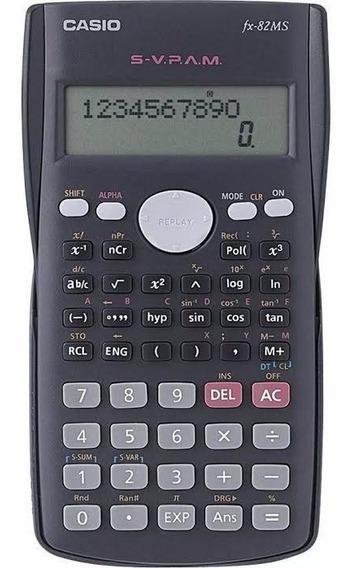 Calculadora Científica De Bolso Casio Fx-82ms 240 Funções