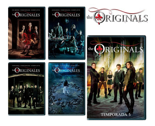 Los Originales The Originals Serie Completa 1 - 5 Latino Dvd