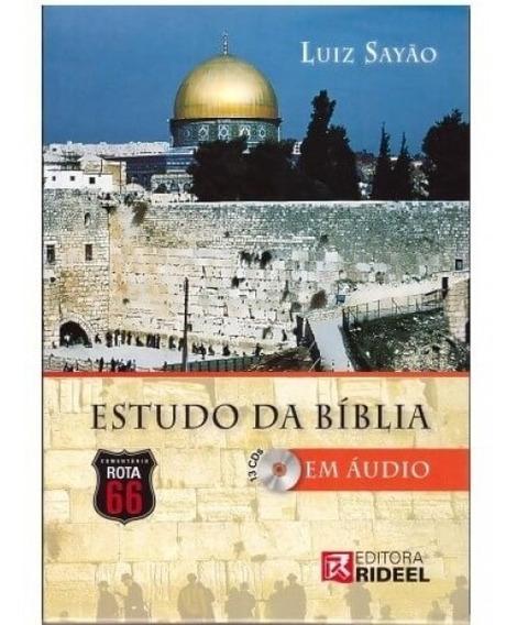 Bíblia De Estudo Comentada Audio Mp3 Luiz Sayao Rota 66