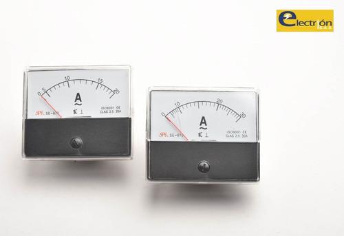 Amperímetro Análogo 0-30a