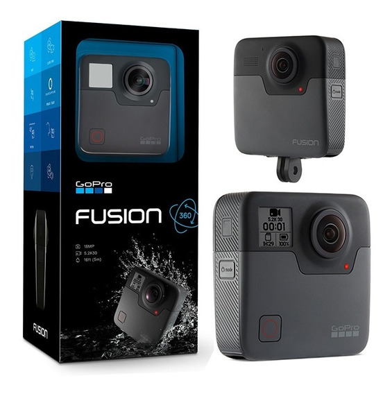 Camera Digital Gopro Para Video 3k 360° 3 Fusion (chdhz-103)