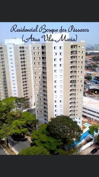 Apartamento No Pq Novo Mundo, 3 Quartos (1 Suite), 1 Vaga De Garagem, Portaria 24 Hrs, Piscina - Dg2981