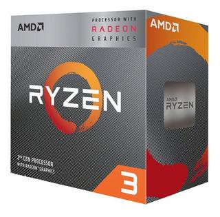 Amd Procesador Ryzen 3 3200g 3.6 4.0ghz Am4 Radeon Vega 8 4