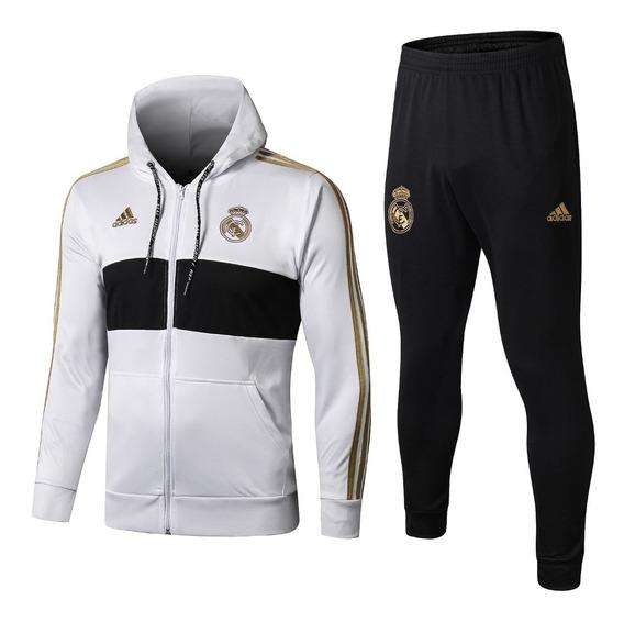 Conjunto De Frio Real Madrid 2020 - Oficial