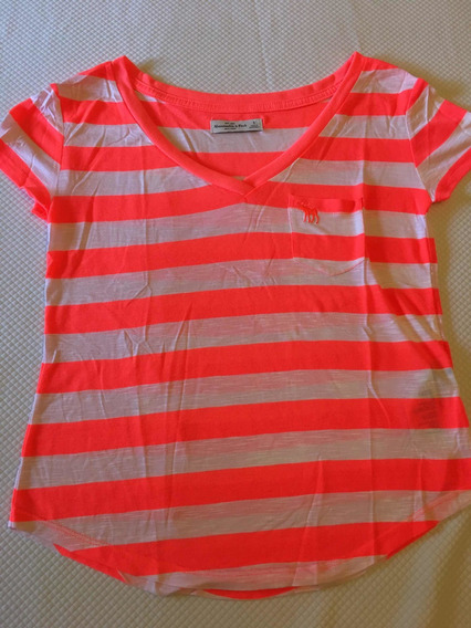 Abercrombie Mujer Remera 7765