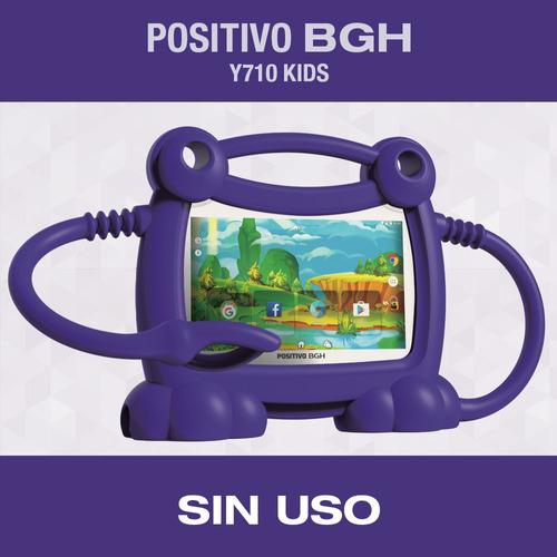 Tablet Positivo Bgh Y710 Kids Nueva Sin Uso Color Violeta