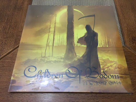 Children Of Bodom - I Worship Chaos Lp Picture Vinil Import
