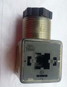 Conector Para Bobina De Válvula Hidráulica