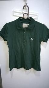 Camisa Polo Masculina Infantil Original Abercrombie & Fitch