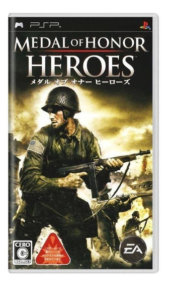 Medal Of Honor Heroes Psp Mídia Física Pronta Entrega