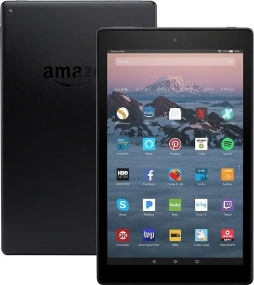 Tablet Amazon Fire Hd10 32gb Novo Comprado Best Buy Eua Acompanha Cupom Fiscal Frete Grátis