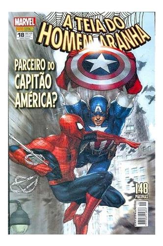 A Teia Do Homem-aranha 18 Marvel Comics Panini 2013