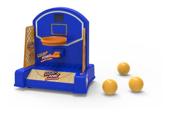 Juego Interactivo Aro De Basket Movil Hoop Pong
