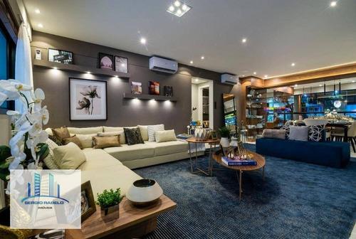 Imagem 1 de 9 de Apartamento Com 3 Dormitórios À Venda, 163 M² Por R$ 2.650.000 - Moema - São Paulo/sp - Ap3428