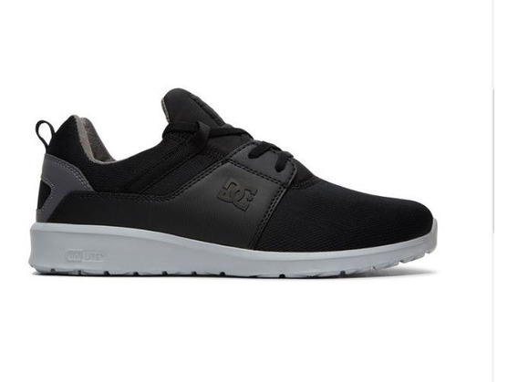 Tenis Dc Shoes Heathrow Black/armor Original Frete Gratis