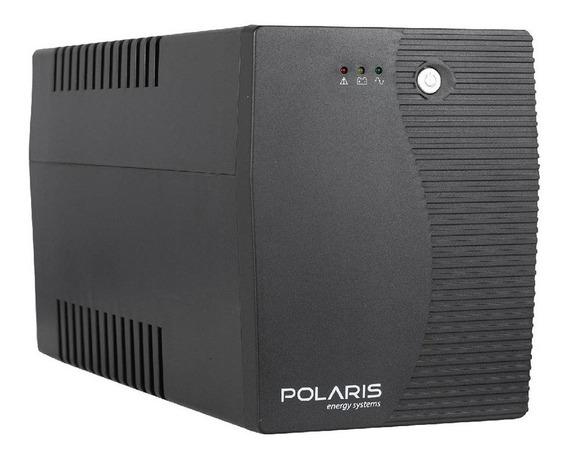 Ups Con Estabilizador Polaris Xion 800 Va 4 Tomas Usb Y Rj11