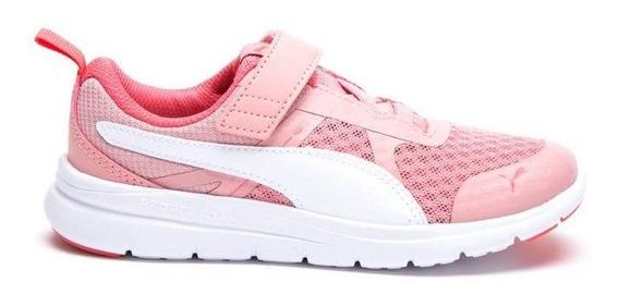 Zapatillas Escolar Niñaspuma Flex Essential Adp Rosas