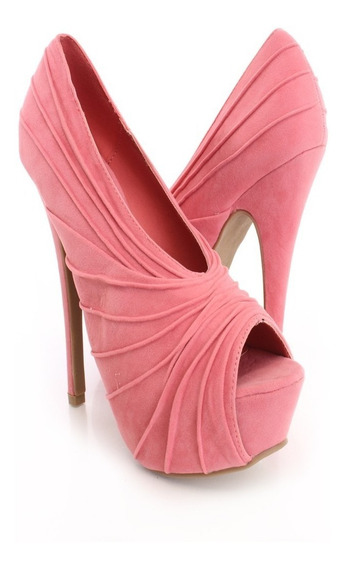 Zapato Peep Toes