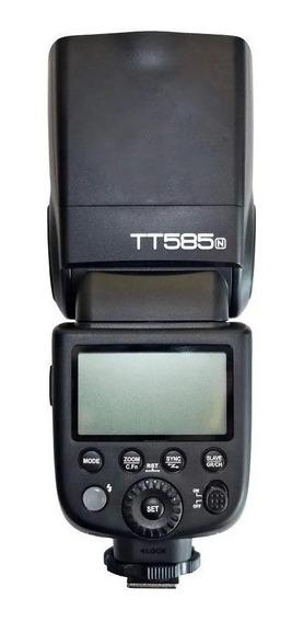 Flash Speedlight Godox Tt585 Nikon (ttl/hss) Tt585n