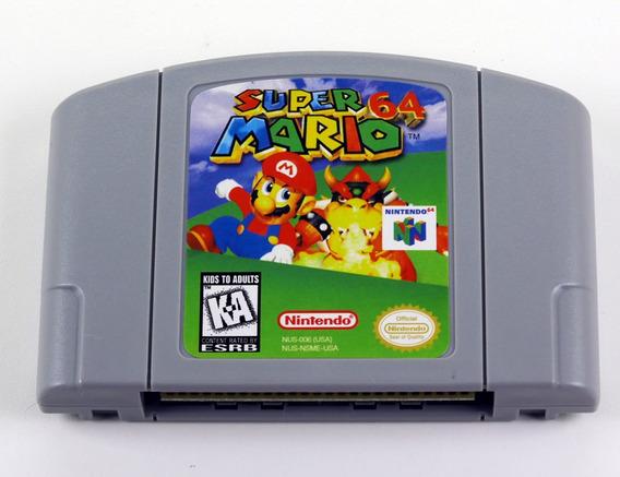 Super Mario 64 Nintendo 64 N64 - Americano Novo Salvando