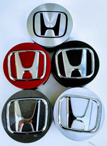 Calota Central Roda Honda Fit/ City C/logo Jg C/4pçs(2281c
