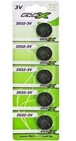 Bateria De Litio 3v Cr 2032 (blister C/5)