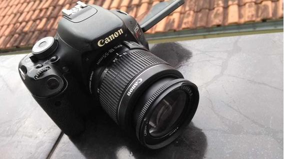 Câmera Canon 600d Kiss X5 , T3i