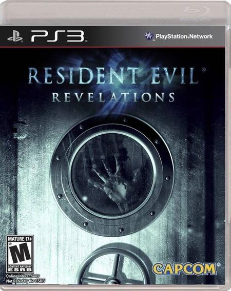 Jogo Resident Evil Revelations Ps3 M. Fisica