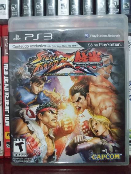 Street Fighter Vs Tekken Ps3 Completo Parcelamento Sem Juros