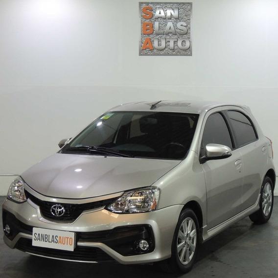 Toyota Etios Xls 5p 6m/t Abs Ab Aa Cc Aux Mp3 San Blas Auto