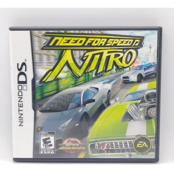 Need For Speed Nitro Nintendo Ds Midia Fisica Nds Jogo Game