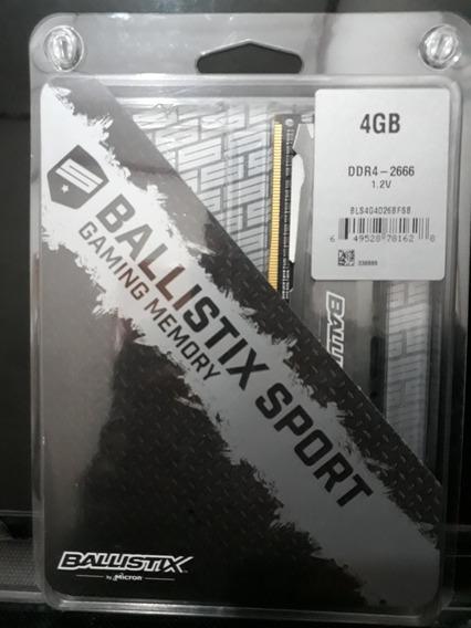 Memoria Ram 60us 4gb Ballistix Sport