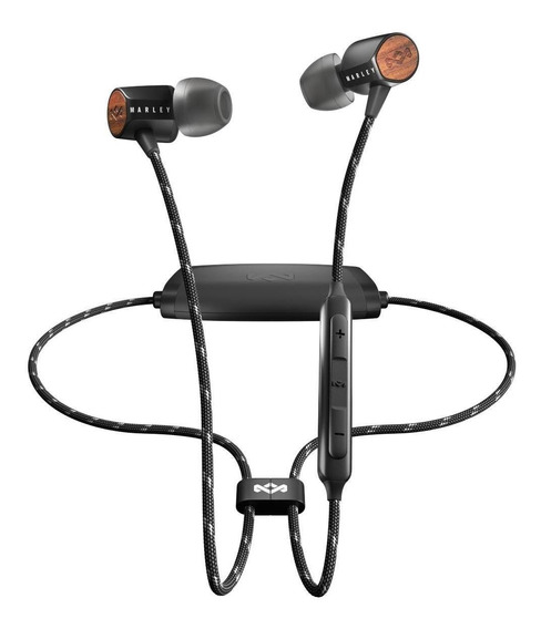 Audífonos House Of Marley Uplift 2 Bluetooth In-ear Negro