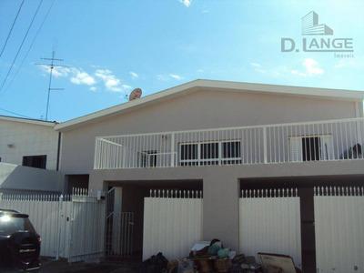 Casa Com 3 Dormitórios À Venda, 245 M² Por R$ 530.000 - Vila Joaquim Inácio - Campinas/sp - Ca11482