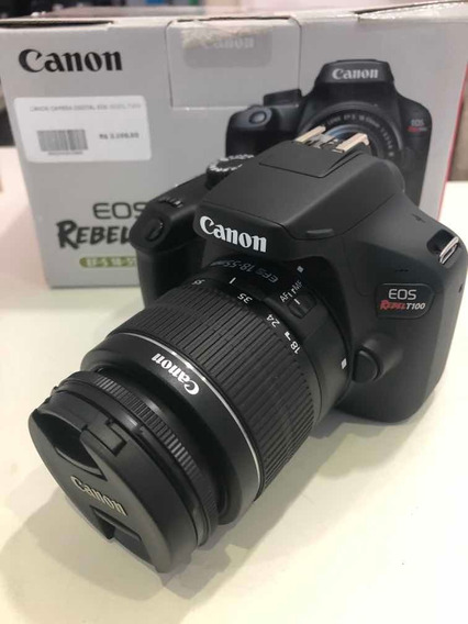 Câmera Cânon Rebel T100