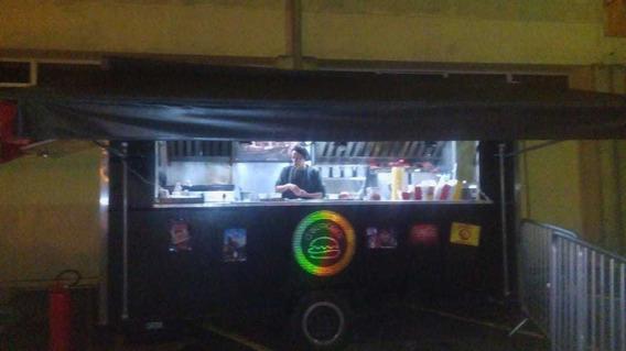 Trailer Para Food Truck Pronto E Equipado Para Uso