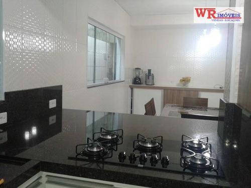 Imagem 1 de 18 de Sobrado À Venda, 166 M² Por R$ 636.000,00 - Jardim Silvina - São Bernardo Do Campo/sp - So0473