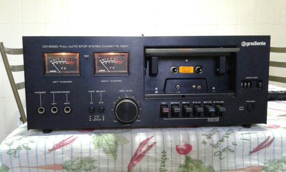 Tape Deck Gradiente Cd-2000