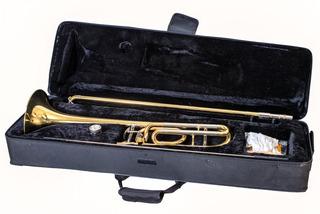 Trombon Tenor A Pistones Custom Parquer Con Estuche Ptrbpc