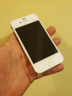 iPhone 4 8gb Blanco En Caja Gsm At&t