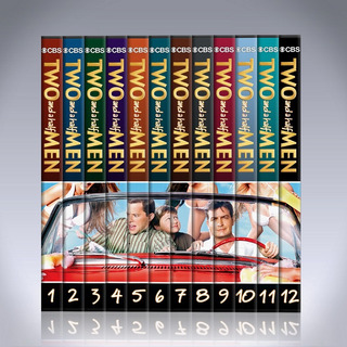 Two And A Half Men Serie Completa Dvd