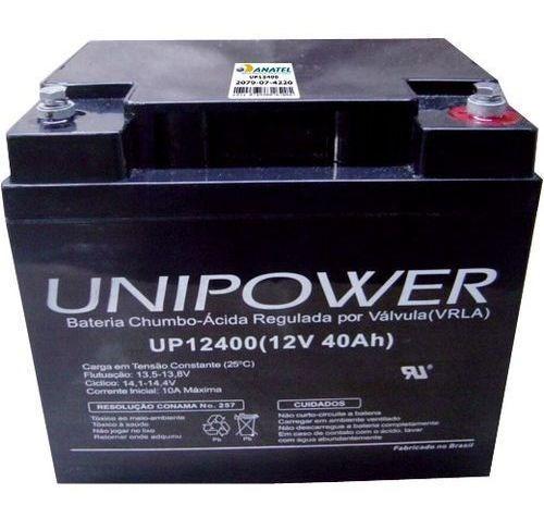 Bateria Selada Up12400 12v/40a Unipower
