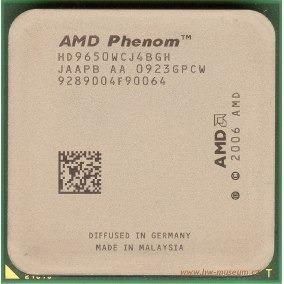Processador X4 Phenom 9650 Quad-core 2.3 Ghz/2 M/95 W/2000