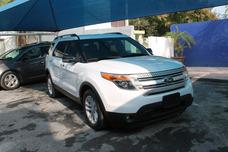 Ford Explorer Xlt Piel 2013 Monterrey Credito