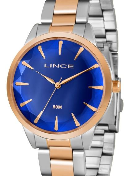 Relógio Lince Feminino Prata / Rose Lrt4563l D1sr