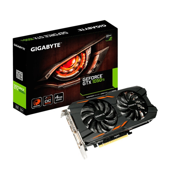 Placa Video Gigabyte Gtx 1050ti 4gb Oc Windforce Hdmi 12cts